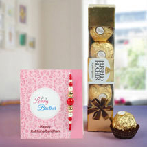 Fortunate Rakhi Hamper: Rakhi for Brother