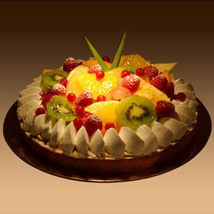 Fruit Tart: Send Mothers Day Gifts to UAE
