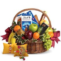 Fruitful Hamper with Rakhi: Send Bhaiya Bhabhi Rakhi to UAE