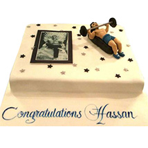 Gym Cake: Personalised Gifts Delivery in UAE