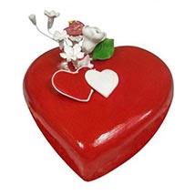 Heart Cake: Midnight Cake Delivery in UAE