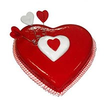 Heart Love Cake: Midnight Cake Delivery in UAE