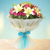 Joyful Bouquet: Birthday Bouquets for UAE