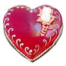Love Heart Cake: