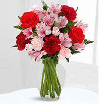 Love in Bloom Bouquet: Carnations to UAE