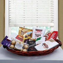 Luxurious Choco Hamper: Father's Day