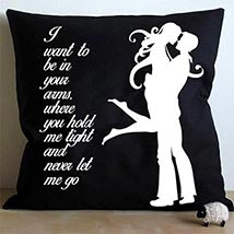 Mad For Each Other Cushion: Valentines Day Gifts for Him