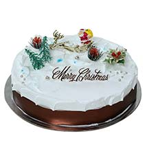 Merry Christmas Cake: Midnight Cake Delivery in UAE