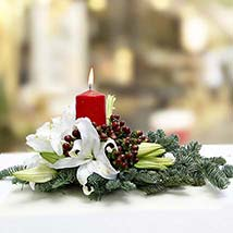 Merry Delivery Centerpiece: Same Day Flower Arrangements in Dubai UAE