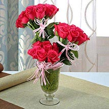Multi Layered Arrangement: Valentines Day Flowers to UAE