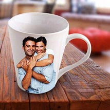 Personalized Photo Mug: Wedding Gifts Dubai