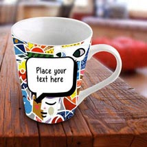 Personalized Vibrant Mug: Send Personalised Gifts to Sharjah