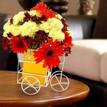 Pick Up Flower Arrangement: Carnations to UAE