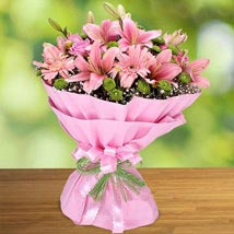 Pink Beauty: Birthday Bouquets for UAE