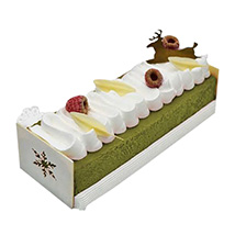 Pistachio Noughat Ice Cream Cake: Christmas Cake Delivery in UAE