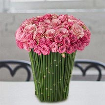 Plushy Pink: Same Day Flower Arrangements in Dubai UAE