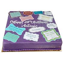 Printed Photo Cake: Send Personalised Gifts to UAE