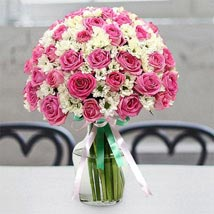 Pure Innocence: Same Day Flower Arrangements in Dubai UAE