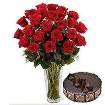 Pure Romantics: Send Flowers and Cakes to UAE