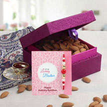 Purple Box Hamper: UAE/Dubai Rakhi Delivery