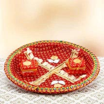 Red Devotion UAE: Send Rakhi Pooja Thali to UAE