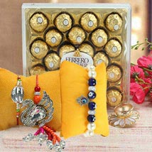 Saccharine Combo: Rakhi for Brother