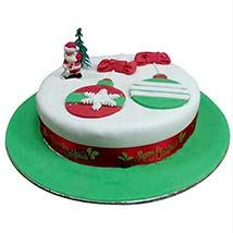 Santa Greetings Cake: Christmas Cake Delivery in UAE