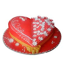 Spectacular Heartshape Cake: