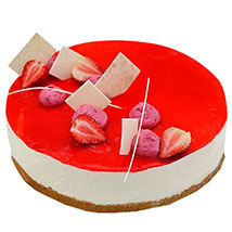 Strawberry Cheesecake: Send Mothers Day Gifts to UAE