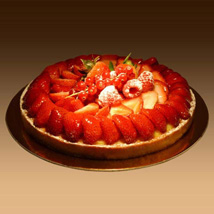 Strawberry Tart: Wedding Gifts Dubai