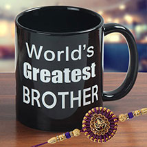 Stunning Rakhi Mug: Rakhi for Brother