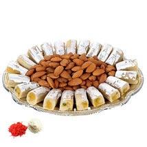 Sweet Burst Plate UAE: Send Bhai Dooj Sweets to UAE