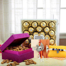 Sweet Sensation: Send Rakhi for Brother in UAE