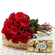 Valentine Love Pack: Roses for Valentines Day