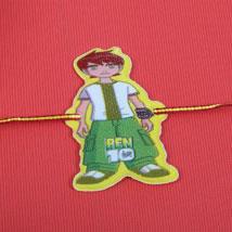 Ben10 Cartoon kids Rakhi: Send Rakhi for Kids to UK