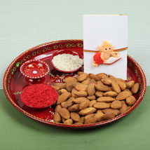 Celebration with Almonds: Send Rakhi to Manchester UK