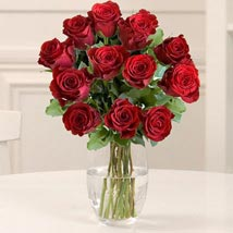 Dozen Red Fairtrade Roses: Flower Delivery in London