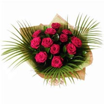 Dozen Red Roses: Send Flowers to UK