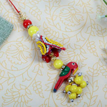fancy parrot Designer Lumba: Send Rakhi to Birmingham