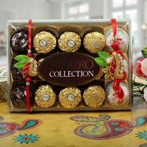 Ferrero Rocher Zardosi Bhaiya Bhabhi Rakhi: Rakhi to Cambridge