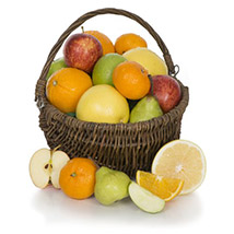 Fruit Basket With Chocolates: Fathers Day Gifts to UK