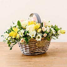 Luxurious Basket: Flower Delivery in London UK