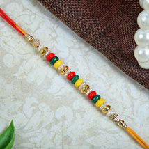 Multicolour Fancy rakhi: Rakhi to Newcastle