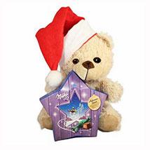 My Sweet Milka Teddy Christmas Star: Gift Baskets in London UK