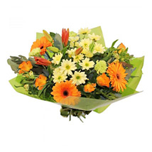 Oranges and Yellows: Bouquets for Birthday