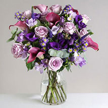 Purple Haze: Send Flowers to London