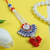 Rajwadi Bluiesh Diamond Lumba: Rakhi to Manchester UK