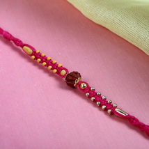 Rudraksh on Pink Thread: Rakhi to Manchester UK