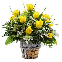 Sunshine Radiance: Flower Delivery in London UK