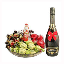 Sweet Me Up With Sparkling Wine: Gift Baskets in London UK